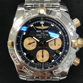 ブライトリング(BREITLING)のブライトリング  クロノマット44 メンズ 腕時計  中古  AS21492(腕時計(アナログ))