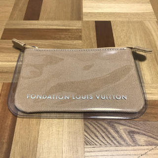 LOUIS VUITTON - パリ限定 フォンダシオン ルイヴィトン ポーチ キャメル ルイヴィトン美術館