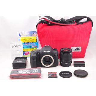 キヤノン(Canon)の【極上品】 Canon キヤノン EOS 7D レンズキット(デジタル一眼)