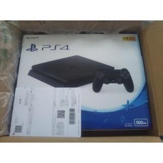 PlayStation4 - 【新品】PS4 ジェット・ブラック 500GB
