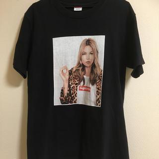 Supreme - シュプリーム  ケイトモス  Tシャツ 黒 L