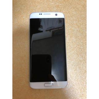 サムスン(SAMSUNG)のau Galaxy S7 edge SCV33 simフリー化(スマートフォン本体)