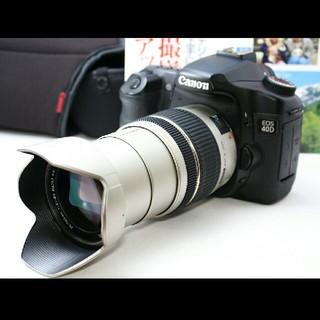 キヤノン(Canon)のデジタル時代の名機 Canon キャノン 40D レンズセット 保証付♪(デジタル一眼)