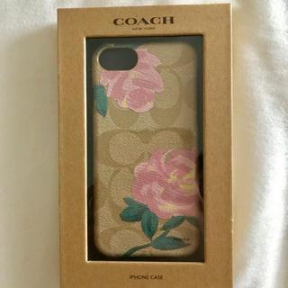 コーチ(COACH)のcoach 新品 iPhone7/8ケース ローズフローラルプリント(iPhoneケース)