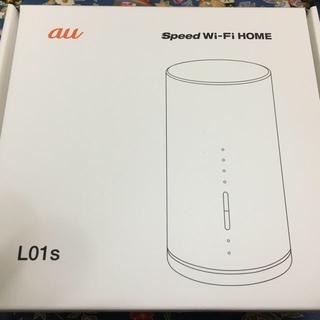 WiMAX2+ speed Wi-Fi HOME L01s 中古(PC周辺機器)
