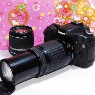 キヤノン(Canon)の⭐️初心者入門機⭐️Canon Eos 40Dダブルズームキット⭐️オマケ付⭐️(デジタル一眼)