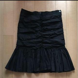 ズッカ(ZUCCa)のスカート 黒 ZUCCa(ひざ丈スカート)