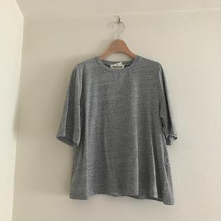 ENFOLD - エンフォルド カットソー Tシャツ グレー ENFOLD