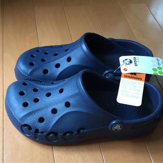 クロックス(crocs)のクロックス/CROCS BAYA/NAVY(サンダル)