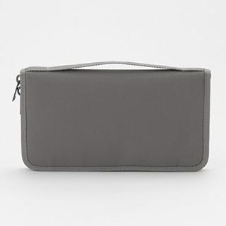 ムジルシリョウヒン(MUJI (無印良品))の無印 パスポートケース グレー 新品未使用(日用品/生活雑貨)