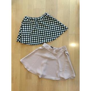ジーユー(GU)のスカート(ミニスカート)