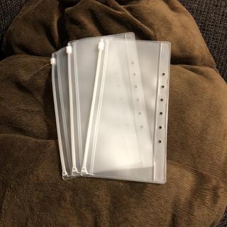 ムジルシリョウヒン(MUJI (無印良品))の無印良品 パスポートケース リフィル3枚新品(旅行用品)