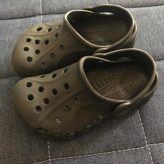 クロックス(crocs)のクロックス黒☆(サンダル)