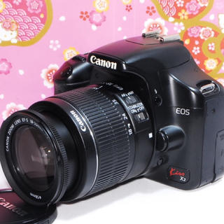 キヤノン(Canon)の❤️美品❤️Canon Kiss X2 レンズキット❤️オマケ付き❤️(デジタル一眼)