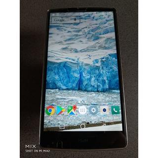 エルジーエレクトロニクス(LG Electronics)のau スマホ isai VL LGV31 けっこう美品(スマートフォン本体)