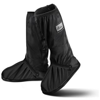 シューズカバー 携帯可 雪 雨 梅雨対策 レインカバー 滑り止め 防水 丈夫 (長靴/レインシューズ)