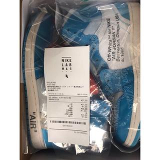 ナイキ(NIKE)の値下げ OFFWHITE NIKE THE TEN JORDAN 1  29.0(スニーカー)