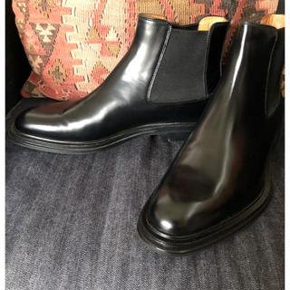 チャーチ(Church's)のChurch's サイドゴア ブーツ ブラック 40(ブーツ)