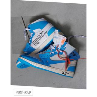OFF-WHITE - NIKE×off-white Air Jordan 1 NRG  27.5cm
