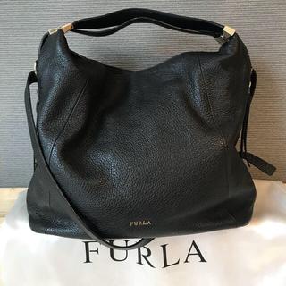 Furla - FURLA  ELISABETH 2wayレザーバッグ フルラ シボ加工