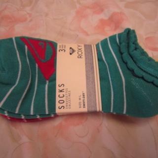 ロキシー(Roxy)のロキシー靴下3足(ソックス)