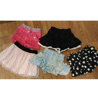 シマムラ(しまむら)のスカートズボン、ショートパンツ、スカート 100(スカート)