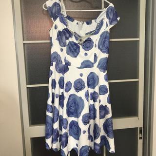 デイジーストア(dazzy store)の青薔薇 ワンピース キャバ(その他ドレス)
