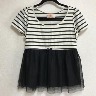 ミニマム(MINIMUM)の美品 minimum ☆☆ トップス(シャツ/ブラウス(半袖/袖なし))