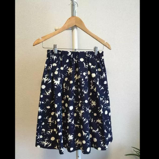 ラボラトリーワーク(LABORATORY WORK)のラボラトリーワーク 花柄 スカート(ひざ丈スカート)