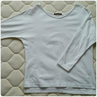 バンヤードストーム(BARNYARDSTORM)の《中古美品》バンヤードストーム厚地 長袖 白 フリーサイズ(Tシャツ(長袖/七分))