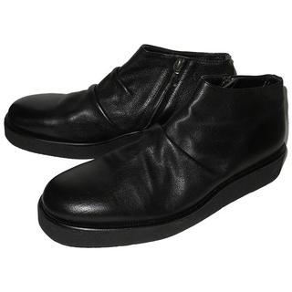 パドローネ(PADRONE)のパドローネ PADRONE ショートサイドジップブーツ 42 新古品 3.4万(ドレス/ビジネス)