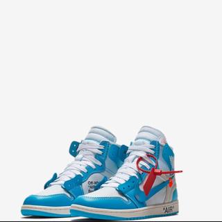 NIKE - Off-white x Nike Jordan1 UNC 27.5cm