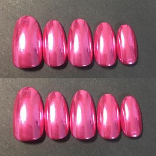 ピンク ミラーネイル  新色