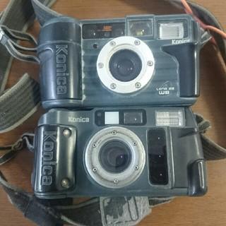 コニカミノルタ(KONICA MINOLTA)の工事用カメラ2台セット(フィルムカメラ)