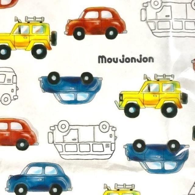 moujonjon (ムージョンジョン) 総柄PVCクリアプールバッグ くるま キッズ/ベビー/マタニティのこども用バッグ(レッスンバッグ)の商品写真
