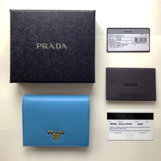 プラダ(PRADA)の新品 プラダ おり財布 ミニ財布(財布)