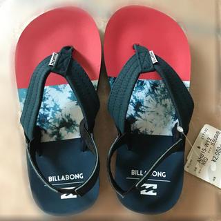 ビラボン(billabong)のBillabong ビラボン ビーチサンダル キッズ 新品 未使用 19cm (サンダル)