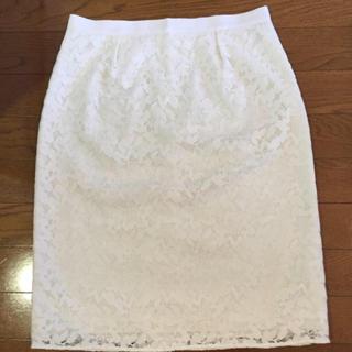 リフレクト(ReFLEcT)のreflect レーススカート(ひざ丈スカート)