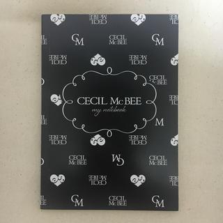 セシルマクビー(CECIL McBEE)のCECIL McBEE 非売品ノート(ノート/メモ帳/ふせん)