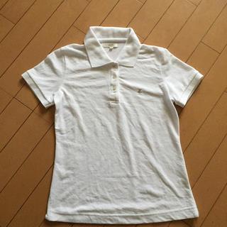 ロペ(ROPE)のROPE 白ポロシャツ(ポロシャツ)