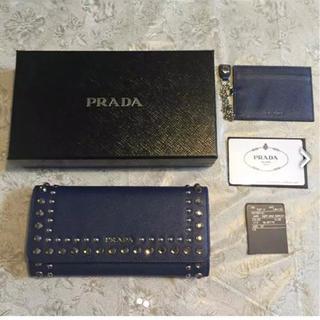 プラダ(PRADA)の美品 人気 PRADA 長財布 (財布)
