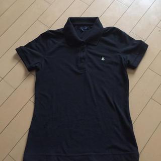 ロペ(ROPE)のROPE 黒ポロシャツ(ポロシャツ)