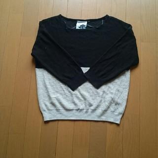 シマムラ(しまむら)の5分袖サマーニット(ニット/セーター)