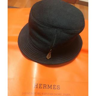 エルメス(Hermes)の週末セール!新品 未使用 エルメス カシミヤハット サイズ60(ハット)