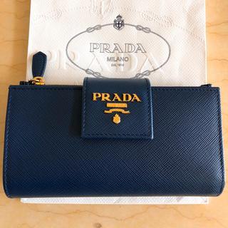 プラダ(PRADA)のプラダ サフィアーノ 2つ折り財布 美品!!(財布)
