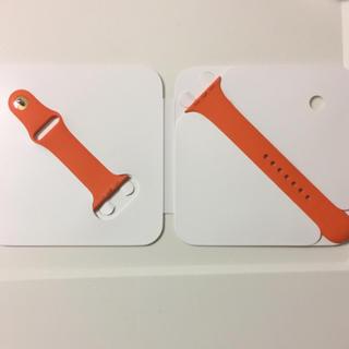 アップルウォッチ(Apple Watch)の新品 !! Apple Watch HERMES ラバーバンド 42mm 用(ラバーベルト)