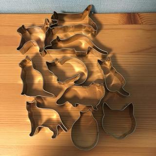 ムジルシリョウヒン(MUJI (無印良品))の無印良品 猫のクッキー型 10個(調理道具/製菓道具)