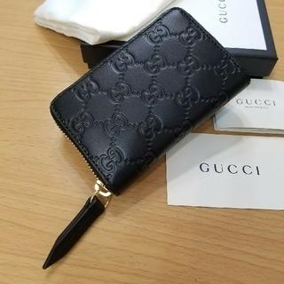 Gucci - 【新品未使用】GUCCI グッチ シマ カードケース、コインケース(小銭入れ)