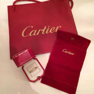 カルティエ(Cartier)のカルティエ フルエタニティリング(リング(指輪))