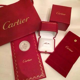 カルティエ(Cartier)のカルティエ エンゲージメントリング ソリテール(リング(指輪))